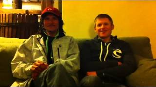 Tinker Juarez and Alex Grant interview at Cannondale Team camp