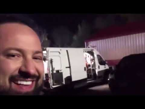 Five Finger Death Punch Filming Their First Movie (Behind The Scenes)