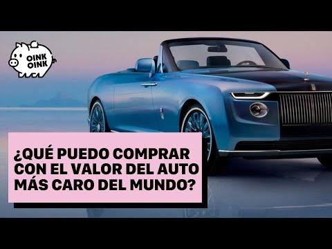 ¿Qué puedo comprar con el valor del auto más caro del mundo?