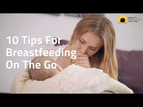 10 Tips For Breastfeeding On The Go