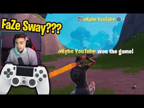 I walked off the map and spectated the NEXT FaZe Sway! (he's GOATED)