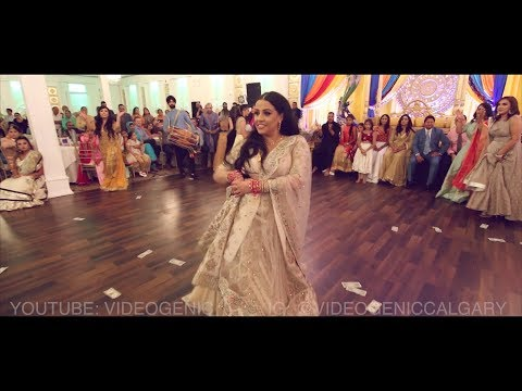 BEST  FAMILY DANCE PERFORMANCE AT AN INDIAN WEDDING | VIDEOGENIC