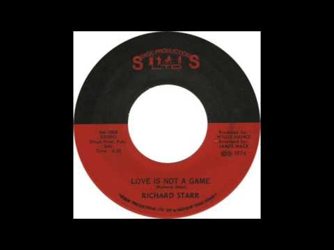 Richard Starr Love Is Not A Game