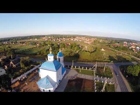 Утро. Село Тимашово, Боровского района, Калужской области