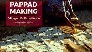 Pappad Making
