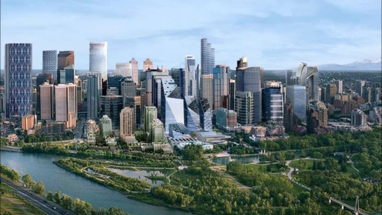 calgary skyline tower canada cities canadian largest future skylines changing alberta