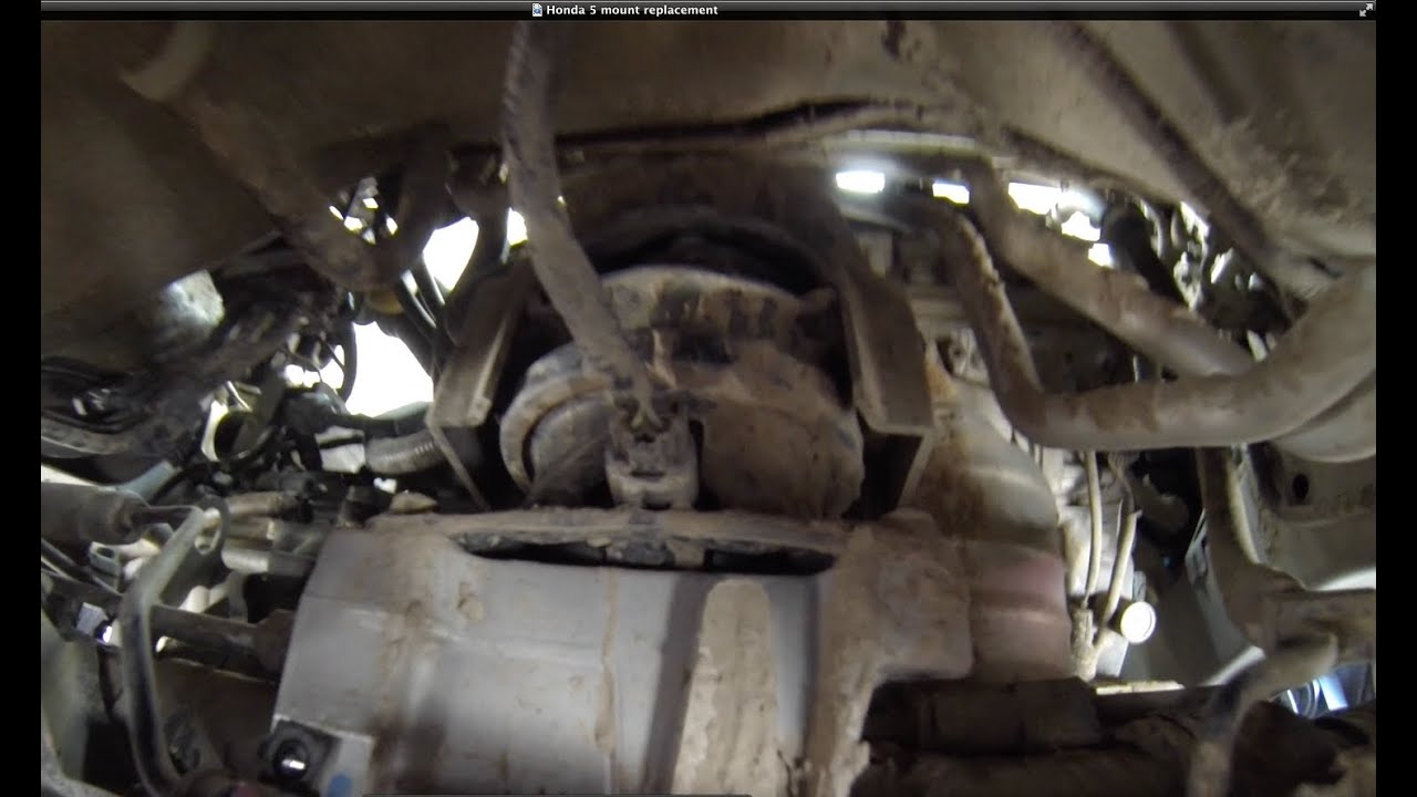 20052007 Honda Odyssey EXLTouring, Motor Mount replacement  YouTube
