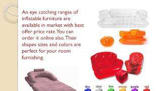 What Is Stylish Inflatable Furniture Sets?