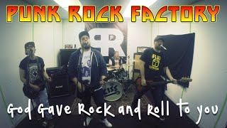 Kiss - God Gave Rock And Roll To You (Punk Goes Pop Style Cover) Punk Rock Factory