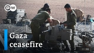 Israel: Rockets fired on heels of fragile Gaza ceasefire  | DW News