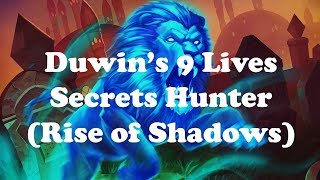 Hearthstone [WILD] Duwin and EK's Nine Lives Azalina Secret Hunter: Laughing at Big Priests (1080p)