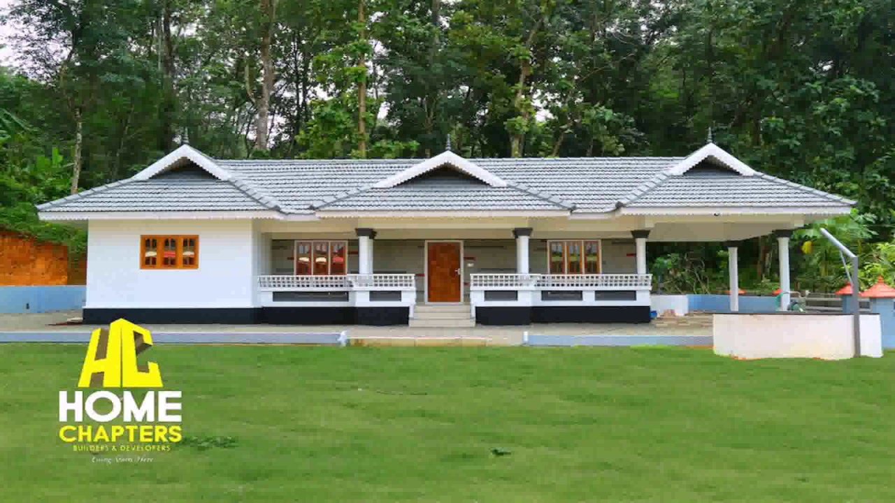 Kerala style traditional house youtube for Kerala traditional home plans with photos