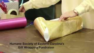 Humane Society of Eastern Carolina's Gift Wrapping Fundraiser