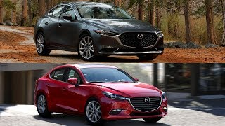 2019 Mazda 3 Sedan vs 2018 Mazda 3 | Old vs New