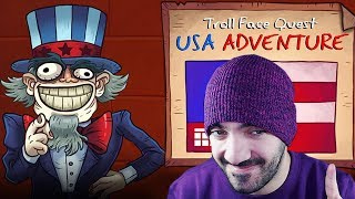 ASÍ SON LOS TROLLS DE ESTADOS UNIDOS ⭐️ Troll Face Quest: USA Adventure | iTownGamePlay