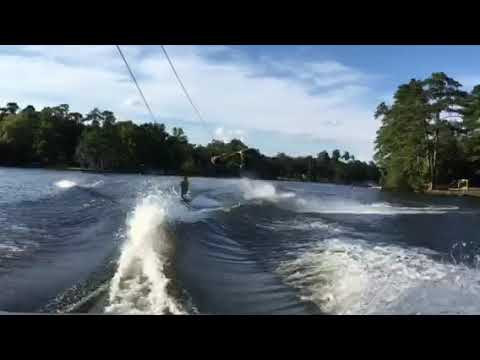 Daddy son wakeboard duos