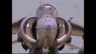 Harrier (V/STOL)Despegue y aterrizaje verticales/cortos.