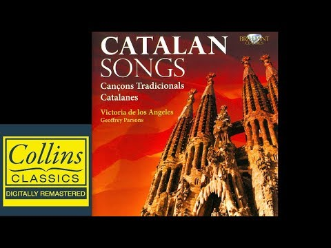 (FULL ALBUM) Victoria De Los Angeles and Geoffrey Parsons - Traditional Catalan Songs