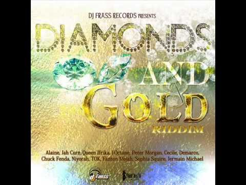 DIAMONDS AND GOLD RIDDIM MIXX BY DJ-M.o.M JAH CURE, ALAINE, DEMARCO, CHRIS MARIN and more