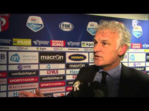 Fred Rutten na afloop van FC Dordrecht - Feyenoord