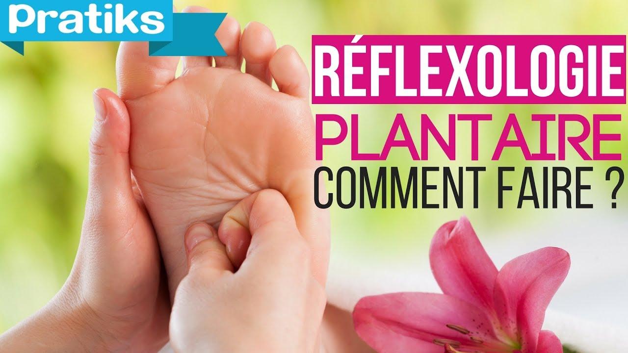 youtube reflexologie plantaire