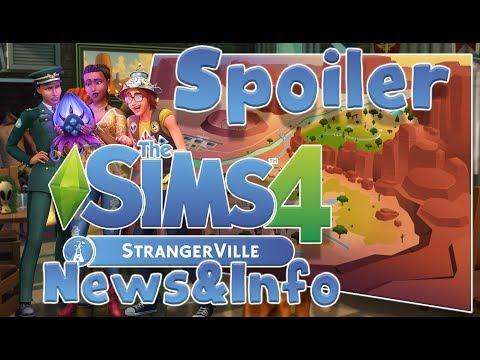 [SPOILER]NUOVO QUARTIERE,TWEET E NOVITA',!THE SIMS 4 STRANGERVILLE ITA thumbnail