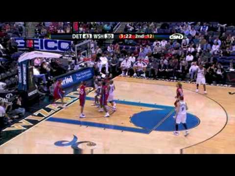 [2008.12.09] Pistons vs. Wizards - NBA Game Highlight