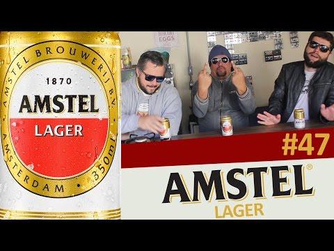 Beer4Fun Na Lata #47 - Amstel Lager (Bolso Furado)