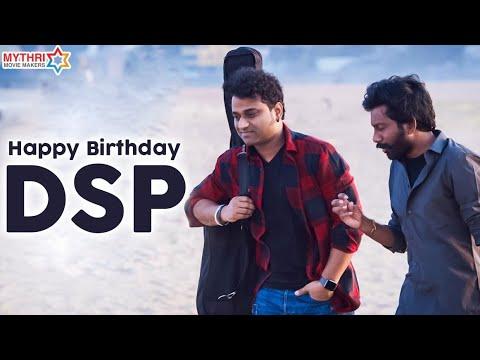 Download Happy Birthday Devi Sri Prasad | DSP Birthday Special | Uppena | Mythri Movie Makers