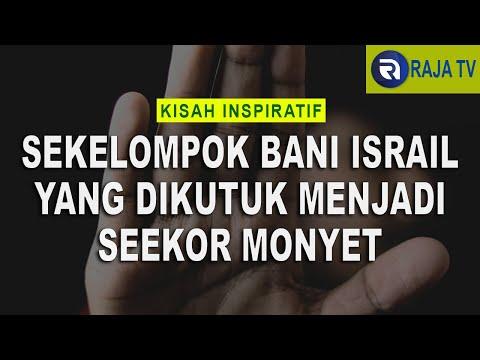 Kisah Inspiratif Islami - Kaum Bani Israil Di Kutuk Menjadi Monyet