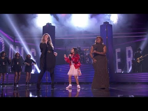 America's Got Talent 2017 Finale Kechi & Angelica Hale Special Performance Full Clip S12E24