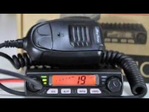 Anytone Smart Albrecht AE6110 Multi-Band AM/FM CB Radio Demo
