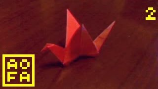 How To Make An Origami Flapping Bird ...for All (02)