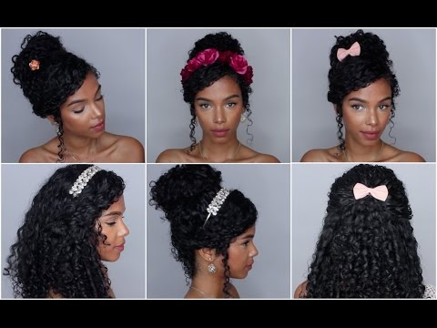 5 Easy Hairstyles with Accessories Vol. 1