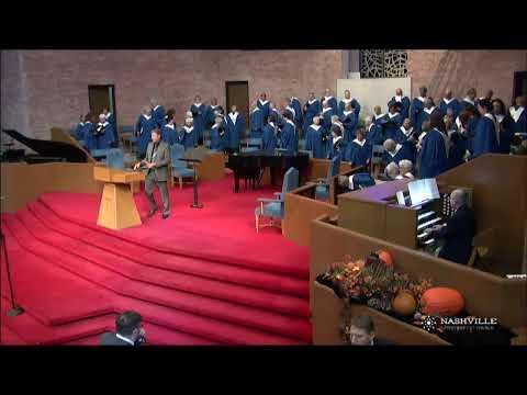 Nashville First Baptist Church | Sanctuary Service