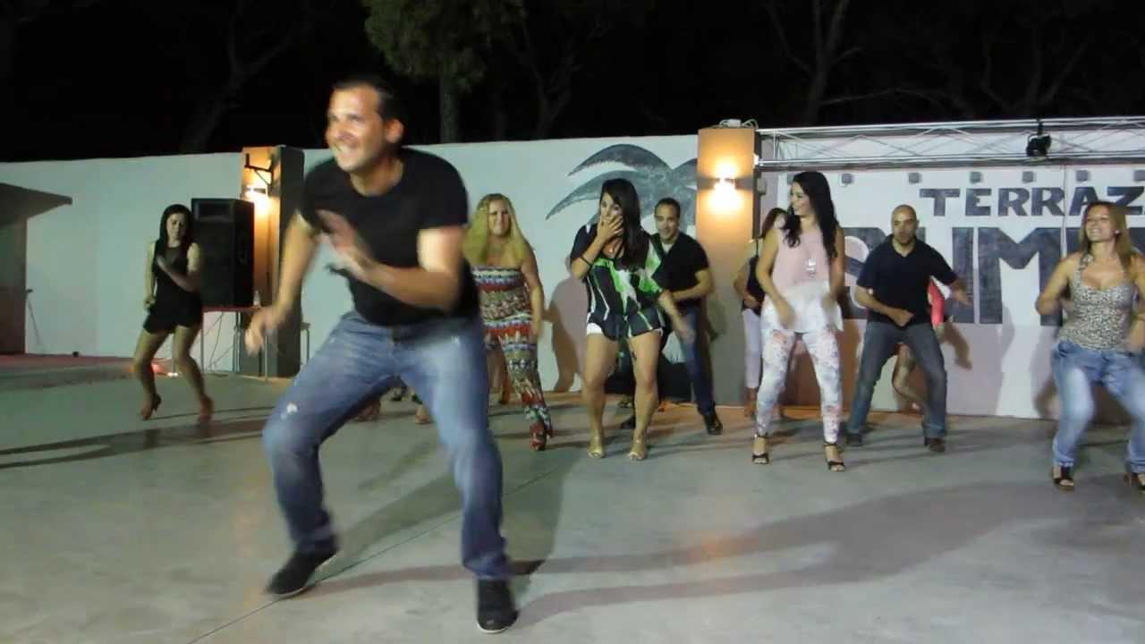 SALCHATON El baile del Serrucho en LA TERRAZA SAMMER de LAS VEGAS Aljaraque  14062013