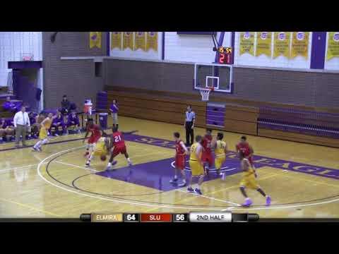 Elmira College Men's Basketball vs. St. Lawrence Highlights