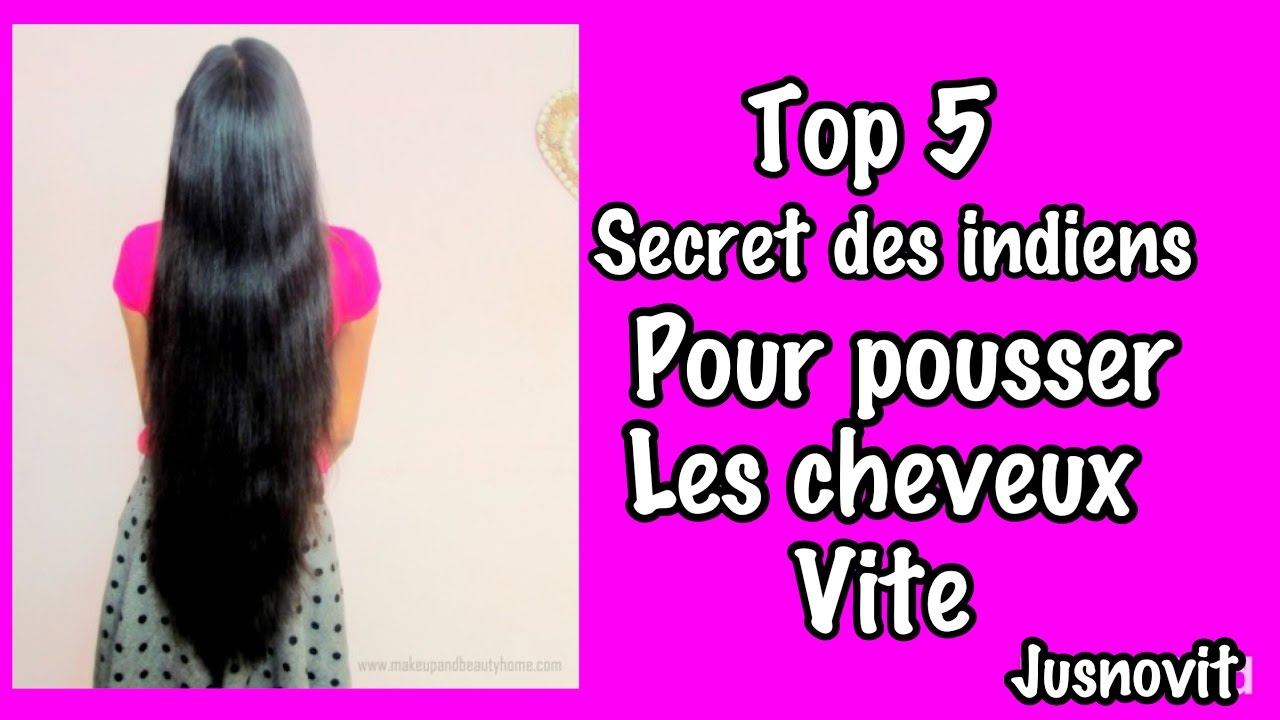 Secret indienne cheveux long