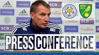 'We Want To Keep This Squad Together'   Brendan Rodgers   Leicester City vs. Norwich City