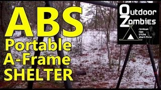 ABS Portable A Frame Shelter - OutDoorZombies