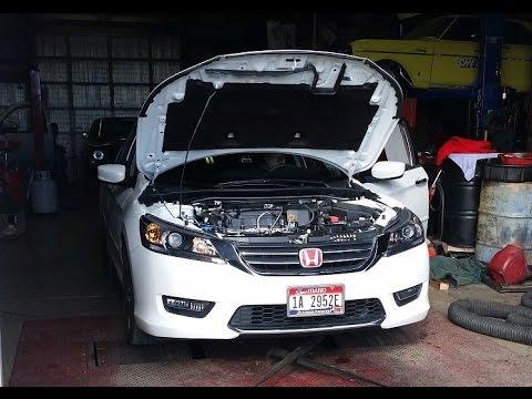 Psr 2015 Honda Accord Throttle Body Spacer Dyno