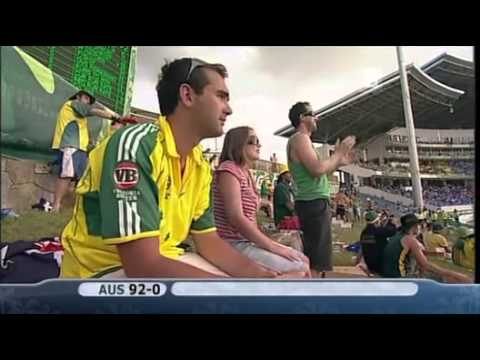Gilchrist and Hayden 106 Run Partnership vs Bangladesh
