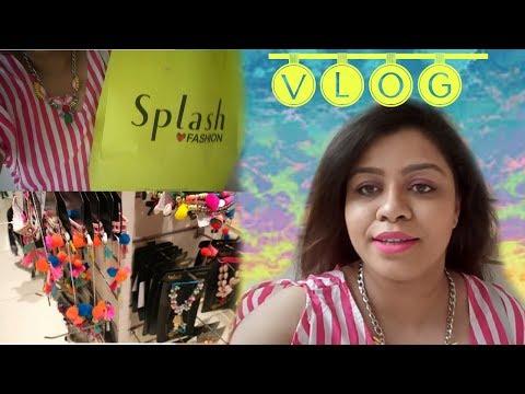 Vlog: Nykaa and Splash Event at VR- Mall Bangalore | Nailzfashionista