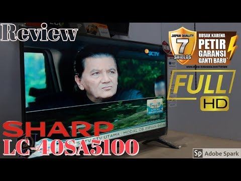 Review Led SHARP LC-40SA5100 FULL HD 2019
