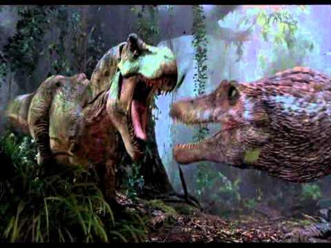 Tyranosaurus vs Spinosaurus - Battle of the Heroes