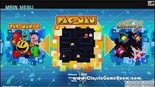 Classic Game Room - NAMCO MUSEUM review for Nintendo Switch