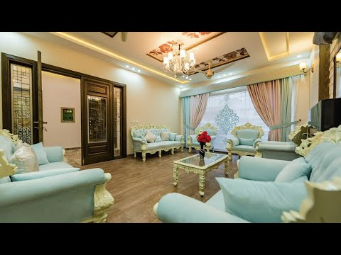 Single Story Fully Furnished Luxurious House🏘 with 2 Bedroom,Kitchen,living & Drawing