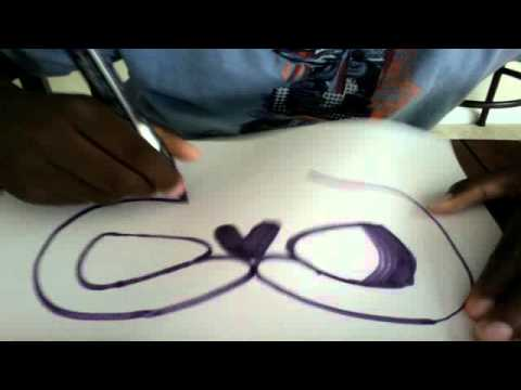 how to draw a graffiti o