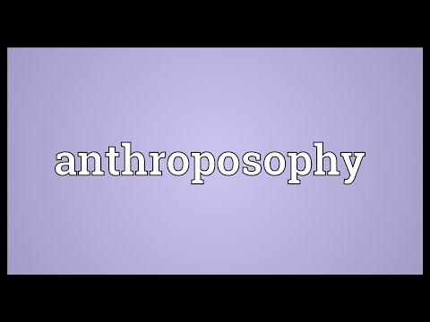 Header of anthroposophy