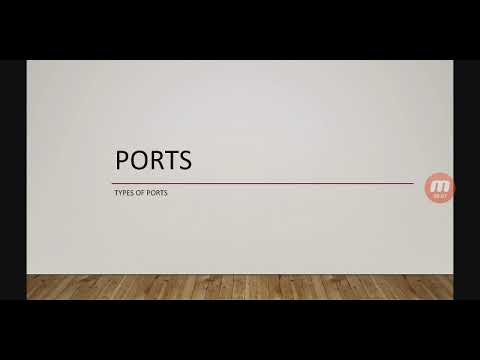#Ports #types and #location